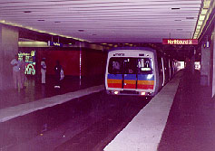A MARTA (Metropolitan Atlanta Rapid Transit Authority) Train