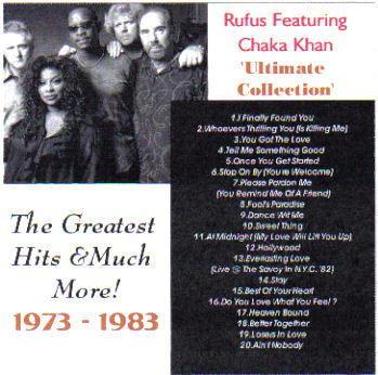 Ultimate Rufus & Chaka Collection